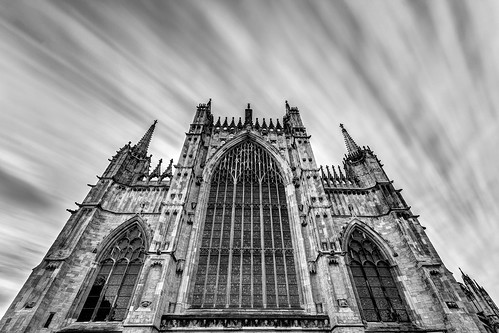 englishgothic minster yorkminster architecture buildings cathedral church gothic holy medieval sacral sacred york northyorkshire unitedkingdom greateastwindow longexposure lowangleofview lowpov canoneos40d