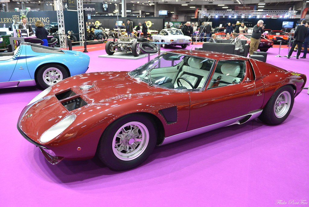 1971 Lamborghini Miura P400 Svj Salon Retromobile 2019 Par Flickr