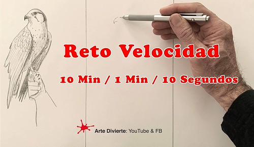 Reto Velocidad - 10 Minutos / 1 Minuto / 10 Segundos! | by artedivierte