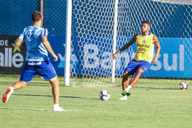 Treino Grêmio 09/04/19