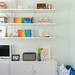 Our colorful livingroom shelf