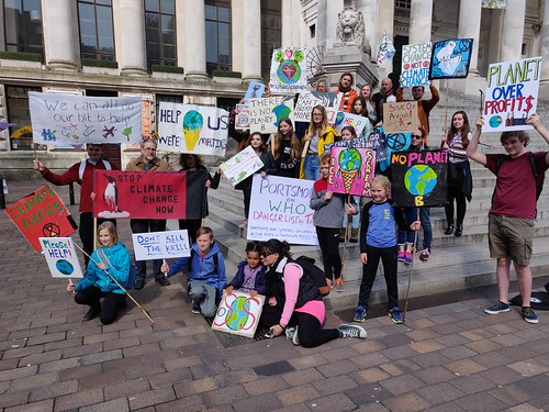 YouthStrike4Climate Portsmouth | by Tim Sheerman-Chase