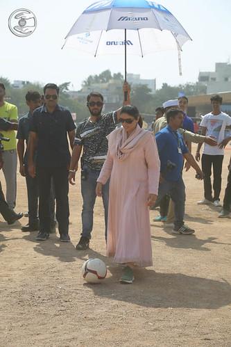 Blessings by Satguru Mata Ji at Football Ground