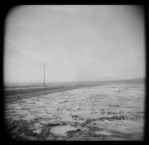 salt and sky. mojave desert, ca. 1999. | by eyetwist