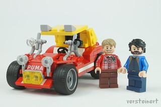Bud Spencer & Terence Hill with Puma dune buggy | by skallesplitter