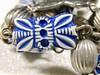 blue butterfly bead by muffett68 ☺ heidi ☺