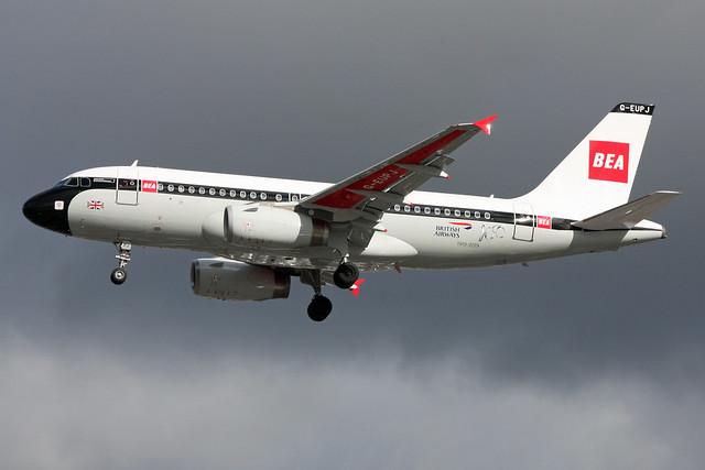 British Airways (BEA Retro) A319