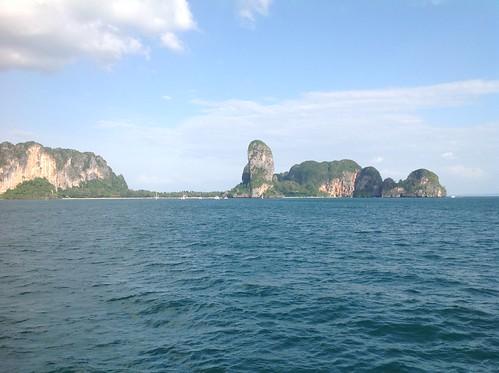 тайланд thailand sea water sky blue wave white rocks summer