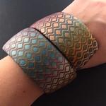 Bracelet ;) #bracelet #premoclay #colors #fauxmosaic