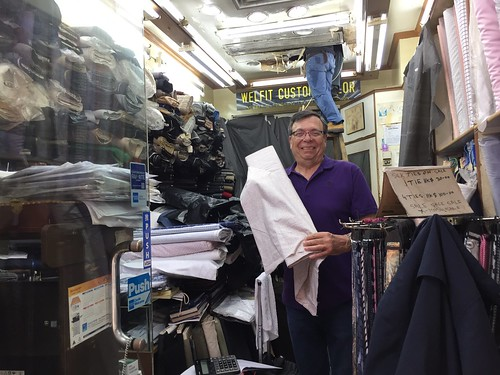 At the tailor's! Travel to Asia: A new understanding–Hong Kong