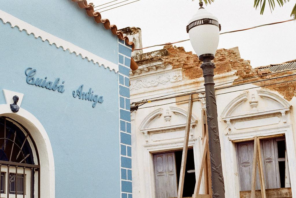 Antiga Gráfica Pepe, Cuiabá, MT, Brasil (fotografia analógica - Nikon F401S, 50mm 1.8, Kodak Pro Image100).