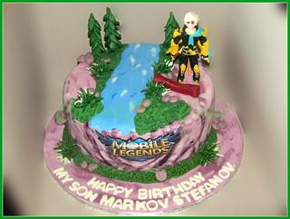 Cake Mobile Lagend MARKOV 24 cm | by KevnCealMom