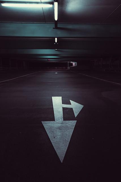 Car park at night 1