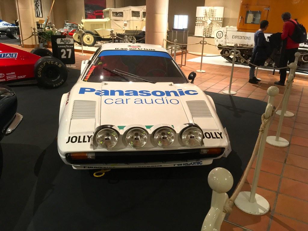 1976 Ferrari 308 GR4 3Litre V8 Rally Car Displayed at Palais Princier De Monaco