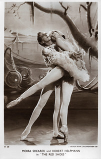 Moira Shearer and Robert Helpmann in The Red Shoes (1948) | by Truus, Bob & Jan too!