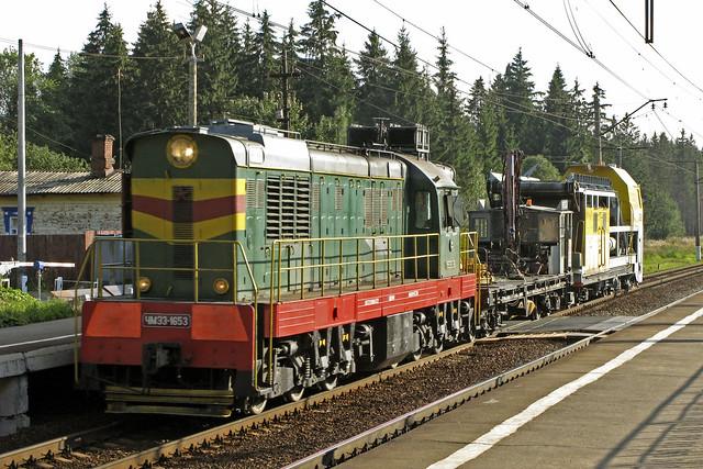 RZD repair train