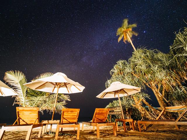 Midnight beach...