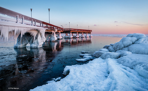 Centre Island pier and the polar vortex | by Phil Marion (179 million views - THANKS)