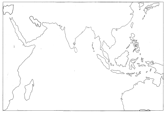 Class 10 History Map Work Chapter 4 The Making of Global World Q4
