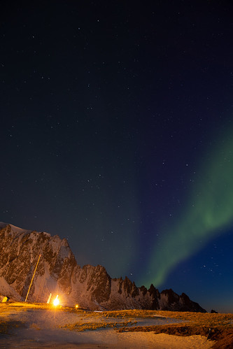 Dancing Aurora Before AZURE's Launch | by NASA Goddard Photo and Video