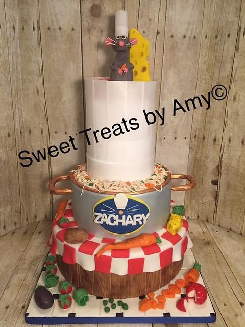 Ratatouille Cake from Amy Grandey of Sweet Treats by Amy