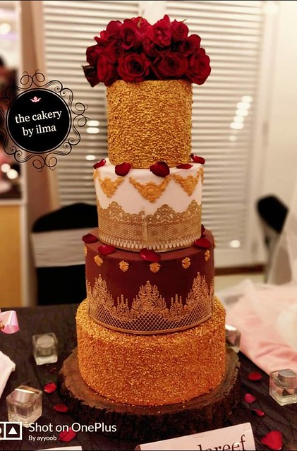 Cake from Ayyoob Khan of The Cakery By Ilma
