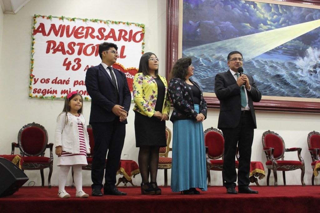43º Aniversario Pastoral en Iglesia de Coelemu