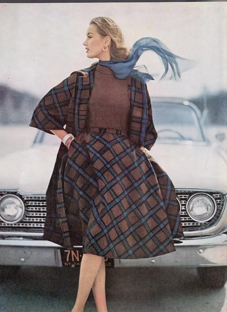 Vogue editorial shot by Karen Radkai 1965