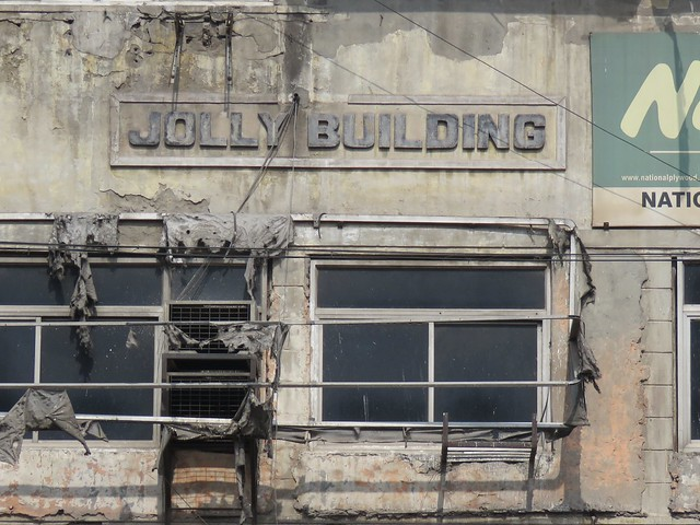 jolly building for the addams family?