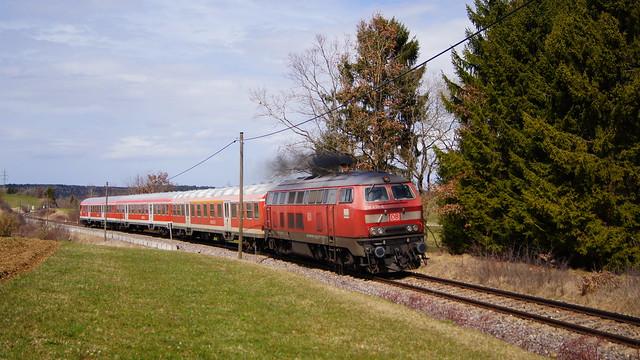 218 435 / DB Regio - Bachheim