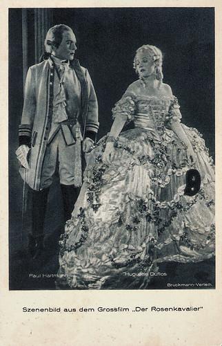 Paul Hartmann and Huguette Duflos in De Rosenkavalier (1925)