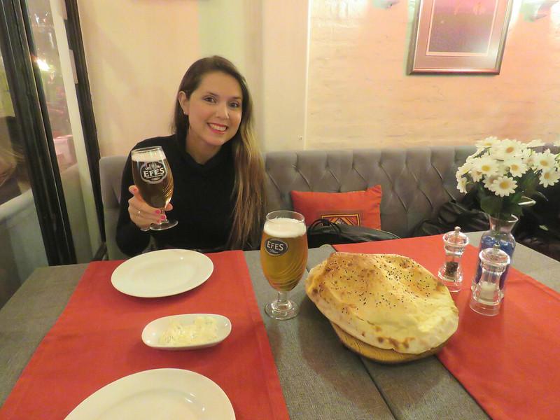 Cena en Estambul