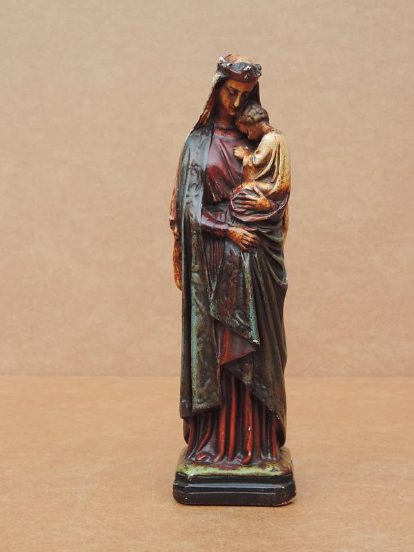 Angemessen Antikes Kruzifix Jesus Art Deco Jugendstil Holz Gips ? Volkskunst