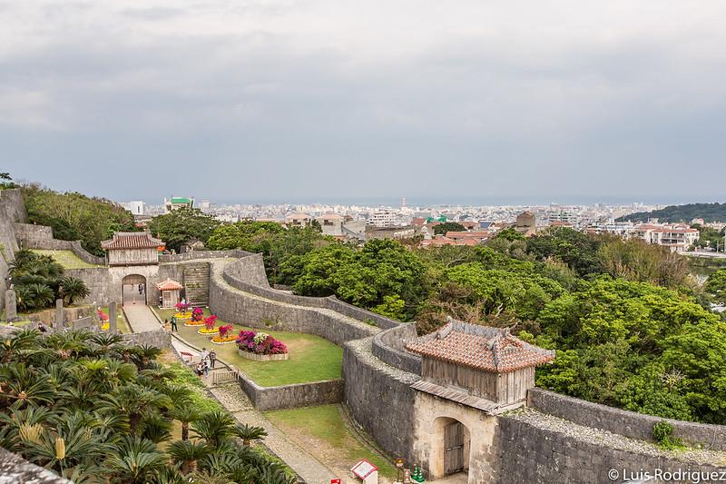 Vistas del complejo del castillo