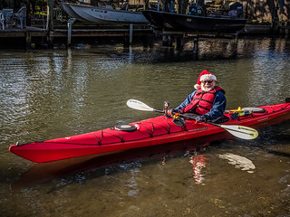 Santa Paddle on the Indian River-009 | by RandomConnections