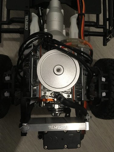 Rc4wd v8 extra parts install | by freedom130283