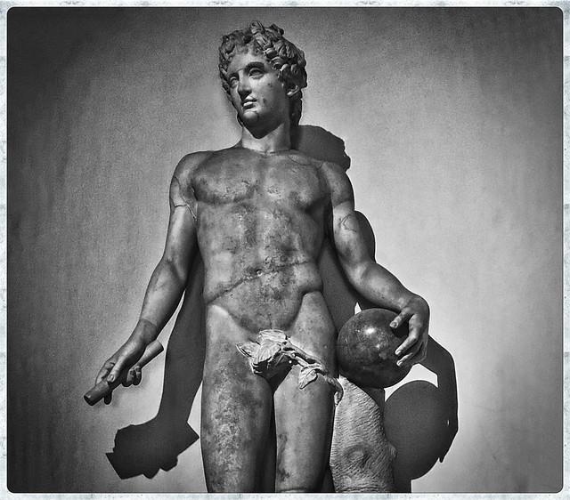 Mensculpture at Doria Pamphilj Gallery
