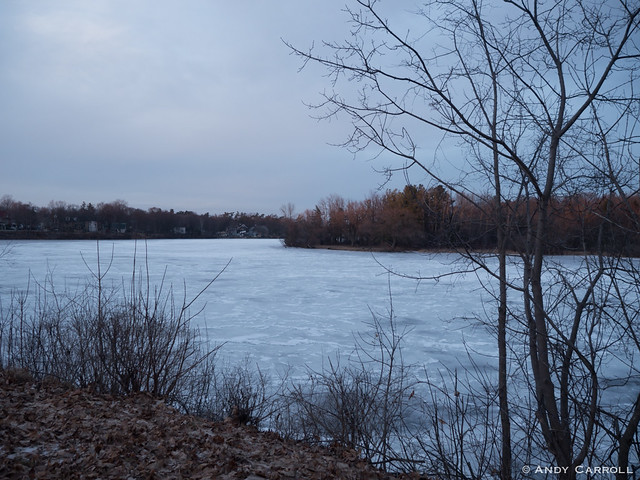 Otonabee River, winter