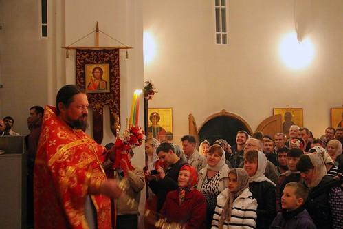 Пасхальное Богослужение в Свято-Никольском храме станицы Кавказской IMG_1324