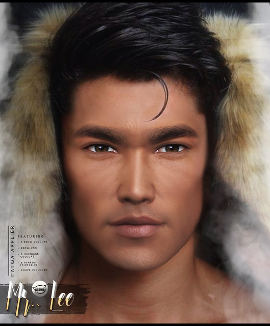 -Birth- 'Mr Lee' Catwa Applier Advert @ SKIN FAIR 2019