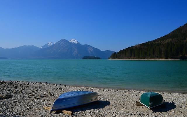 Jachenau - Lake Shore