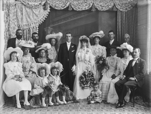 Wedding party, probably North Queensland | by State Library of Queensland, Australia