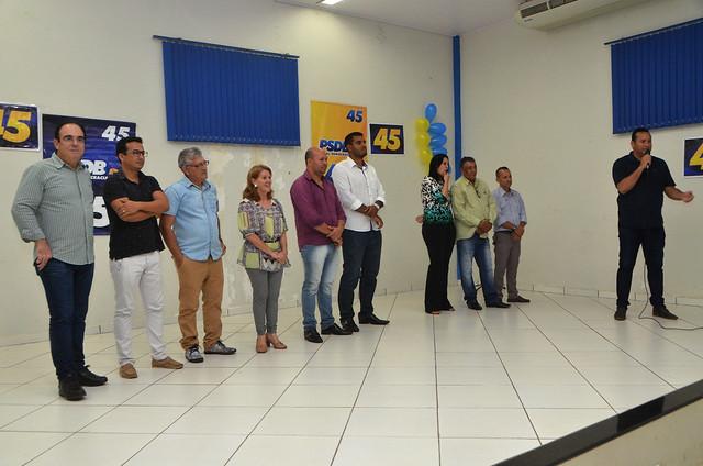 Convenção Municipal do PSDB em Coxim -Ms