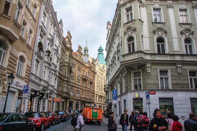 布拉格猶太區街景 1