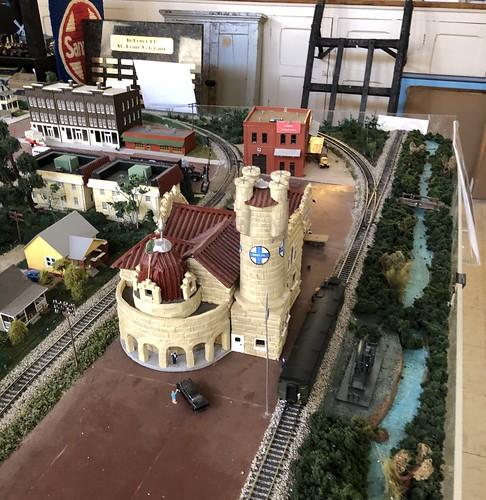 Depot Model in the Pottawatomie County Museum in Shawnee | by gmeador