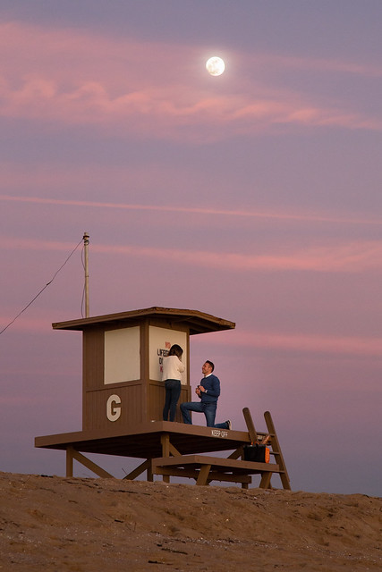 Proposal at Guard Tower G