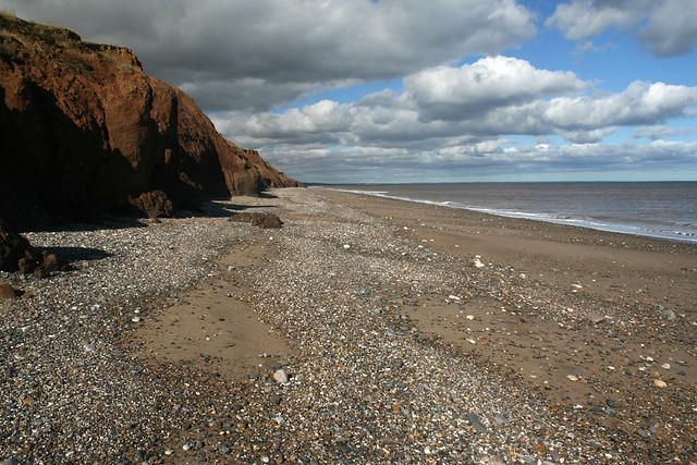 The beach at Aldbrough