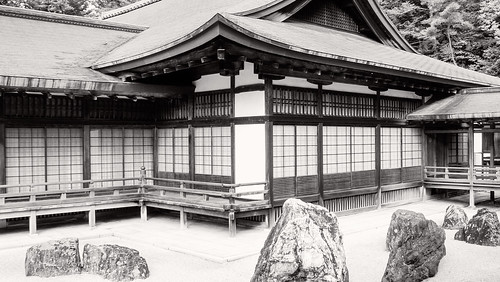 Kongobu-ji; b/w version 1 | by Tigra K