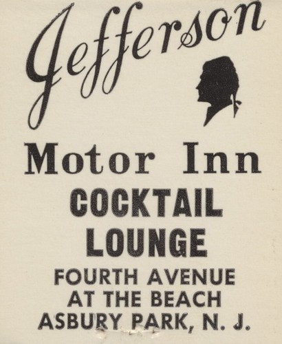 Jefferson Motor Inn & Cocktail Lounge - Asbury Park, New Jersey | by The Cardboard America Archives