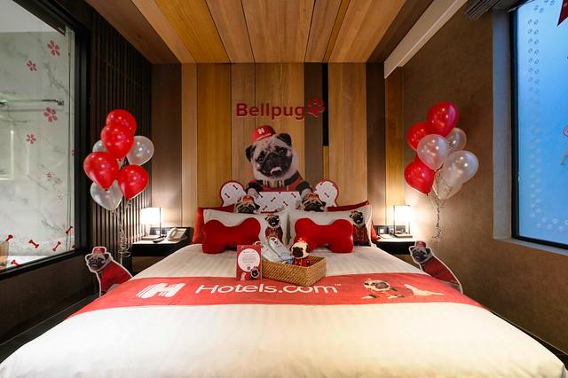 Hotels.com x台北東旅 Bellpug主題房